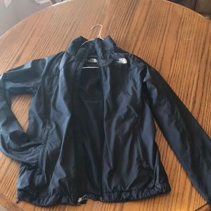 North Face Women's full zip windbreaker